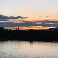 夕陽 いつかの夕陽。  今日の夕陽は最後の1枚…(9枚目)