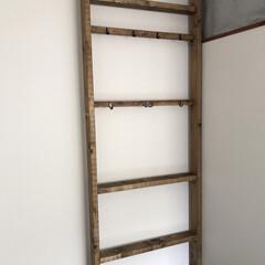 壁面収納/ラブリコ/100均/DIY/収納/住まい 床から天井までの壁面収納。 娘の部屋に!…