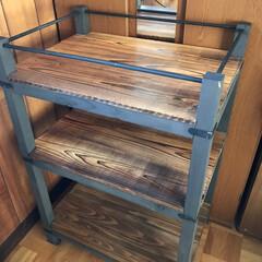 100均/DIY/収納 昨日はDIY日和🛠 台所用にと思って作っ…