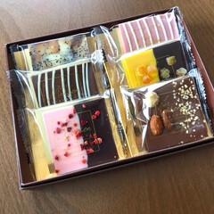 幸せ/可愛いもの/プレゼント/甘いもの/チョコレート/雑貨/... いただいたチョコレートが とーーってもお…