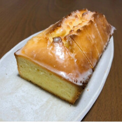 🍘/レモン/お菓子づくり/料理/ケーキ/パウンドケーキ/... レモンが腐りそうだったので ウィークエン…