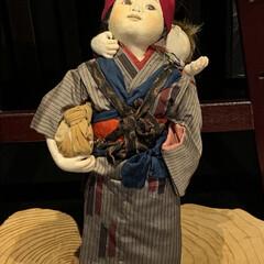 家族の絆創作人形/言葉と書で綴る創作人形の世界 傘福を見た帰りに寄り道した所に展示してあ…(3枚目)