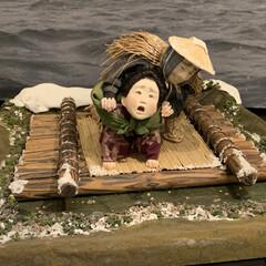 家族の絆創作人形/言葉と書で綴る創作人形の世界 傘福を見た帰りに寄り道した所に展示してあ…(5枚目)