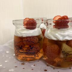蜂蜜ホイップ/キウイ/苺/コラーゲン 小さい苺見つけたのでジャムでも作ろっかと…(3枚目)