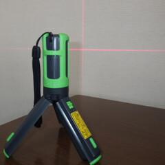 タワミ/垂直/住宅調査/耐震診断/インスペクション/ホームインスペクター デジタルレーザーレベル 水平と垂直がレザ…