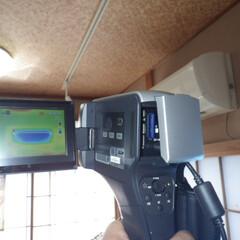 赤外線カメラ/サーモグラフィーカメラ/住宅診断調査/耐震診断/雨漏れ/断熱 精密赤外線カメラ(サーモグラフィーカメラ)