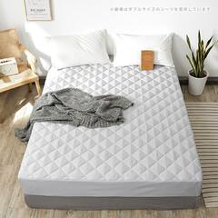寝室/ベッド周り/モノトーン/シンプル/シーツ/ベッドルーム/... *monotone パッド一体型ボックス…