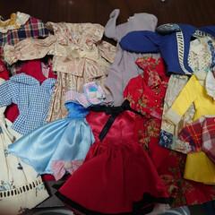 女の子/おままごと/ジェニー/子供/人形/断捨離 娘達がまだお人形遊びをしていたときの洋服…
