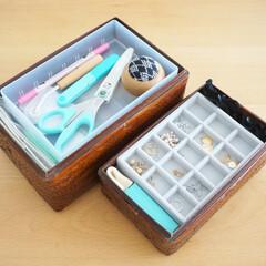 裁縫道具/アクセサリー/収納/雑貨/インテリア/無印良品 裁縫道具とアクセサリーは、無印良品の収納…