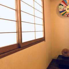お茶と美/狭山美学校/Art/アート/モダンインテリア/インテリア/... 和室の床の間にアート作品を飾っています …