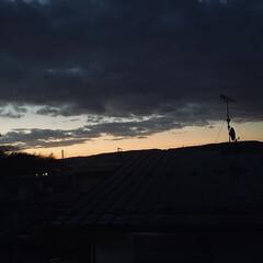 朝焼け/朝/夜 おはようございます。🎶  朝5時過ぎの写…