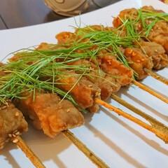 レシピ/おかず/つまみ/鶏肉レシピ/鶏肉料理/揚げ物/... 家族やホムパでも大人気の 揚げ焼き鳥  …