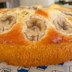 パウンドケーキ/バナナケーキ/かんたんレシピ/ホットケーキミックス/お菓子作り/おうち時間/... ホットケーキミックスで簡単美味しいバナナ…