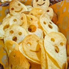 100均購入品/ポテトチップス/おばけ/ミイラ/パイ/スープ/... happy halloween  今日の…(3枚目)
