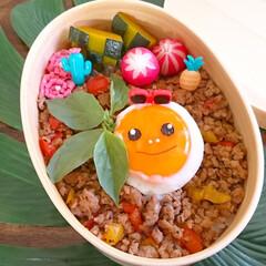 弁当/曲げわっぱ/飾り切り/バジル/キャラ弁/ガパオ/... おはようございます(^^) 今日のお弁当…
