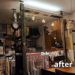 自己満足/LED照明/ラブリコ/ダイソー/100均/DIY/... お久しぶりです\(^^)/ 年末のおやす…