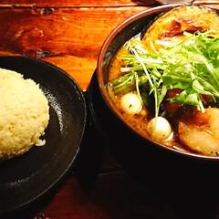 スープカレー/グルメ 久しぶりにスープカレー 食べてきました(…