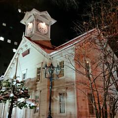 時計台/札幌 帰り通ったので久しぶりに 時計台も撮影(…