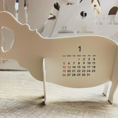 グッドモーニング 2020年 カレンダー 卓上 ズー 0599(その他オフィス家具)を使ったクチコミ「今年の私のカレンダーは 動物です🗓 昨年…」