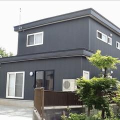 エイハウス/秋田安くていい暮らす家/住まい/暮らし オーナー様宅🏠緑が映えます🌲 奥にある思…