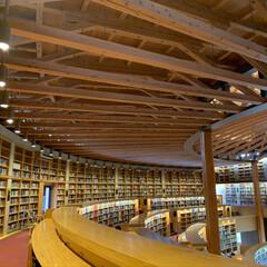 勉強/エイハウス/図書館/秋田杉 念願の図書館に行ってきました 秋田国際教…