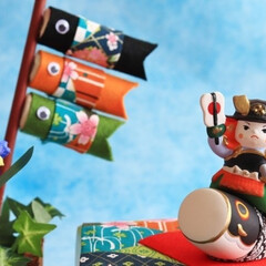 端午の節句/五月人形/お祝い/鯉のぼり/子どもの日/おもてなし/... (1枚目)