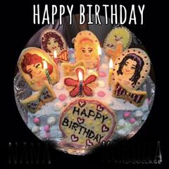 レゴフレンズ/水玉/カラフル/クッキー/誕生日ケーキ/手作り/... 姪っ子へレゴフレンズケーキです🎂