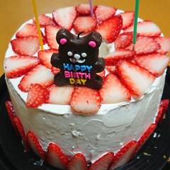 「今日は、職場のお客様のお誕生日会でした‼…」(2枚目)