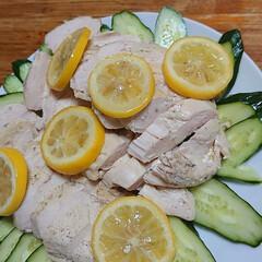 LIMIAごはんクラブ 鶏ムネ肉のオリーブオイル煮です😌💓ムネ肉…(2枚目)