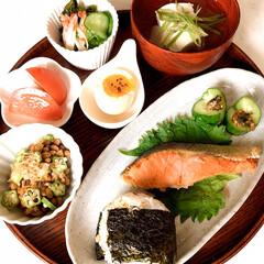 暮らし/健康ご飯/和食/手作り/朝ごはん/煮卵/... おはようございます☀  今朝は、目覚めが…