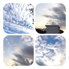 空/雲/雲の変化/空が好き/癒し/生活/... 今空  14:30 久しぶりに晴れた 夕…