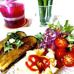 お家ごはん/朝ごはん/ヘルシーご飯/野菜好き/手作り/節約/... こんにちは☀️  暑くてご飯作りも 気が…