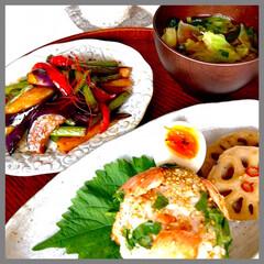 お家ごはん/朝ごはん/手作り/家庭の味/朝ごはんをしっかり/お米好き/... おはようございます☀ 青空が広がる気持ち…