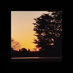 夕焼け/夕陽/夕暮れ/部屋からの景色/部屋からの夕陽/ホッとする時間/... 夕焼けを見ながら コーヒーを飲み一日の疲…(1枚目)