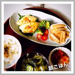 お家ご飯/朝ごはん/手作り/朝ご飯しっかり食べる/1日の始まり おはようございます🍂  11月も、2週目…(1枚目)