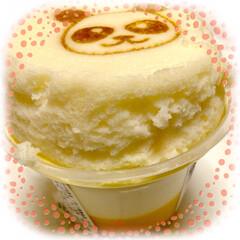 パンダが可愛い/スフレプリン/3時のおやつ 3時のおやつ ファミマのスフレプリン 🐼…(1枚目)