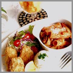お家ご飯/朝ごはん/朝ご飯しっかり食べる派/お米好き/野菜好き おはようございます☀  青空が広がり秋晴…