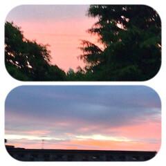 「夕焼けパート2 あの後、真っ赤な空に。」(1枚目)