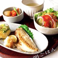 お家ごはん/朝ごはん/手作り/朝はしっかり食べたい/1日の始まり/和食/... 朝ごはん  最近、野菜不足かな? と感じ…