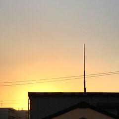 空/朝焼け/暮らし/窓からの眺め 夕方迄、バタンキュー 珍しく寝込んでしま…(2枚目)