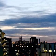 夕暮れ/夕焼け/空/ベランダからの景色/暮らし/癒し 1/11  16:30〜の空  明日は、…(3枚目)