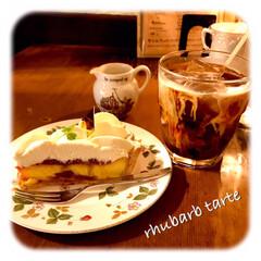コーヒータイム/寛ぎ/暮らし/カフェ/コーヒー好き/ケーキ好き お昼は 朝ごはんをしっかり 頂いたので、…