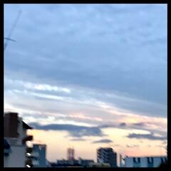 夕暮れ/夕焼け/空 今空 17:00  今日も一日、お疲れさ…