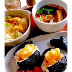 お家ごはん/朝ごはん/手作り/食器/カトラリー/キッチン雑貨/... おはようございます。 4\9(金) 週末…(1枚目)
