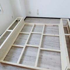 DIY/賃貸マンション/リノベーション/シャビーシック/壁を作る/原状回復できます 『壁を作る』  (125)新たな壁の形が…