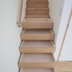階段下/収納/引き出し/有効利用/スペース 西荻の家-階段下収納(引き出し) (階段…