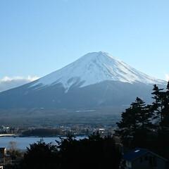 家族旅行/富士山/おでかけ 家族旅行で、河口湖に来ています  富士山…