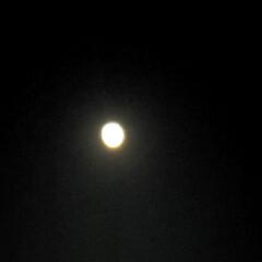 名月/夜空/満月/中秋の名月/空 今朝☔降っていたけど…  綺麗に中秋の名…