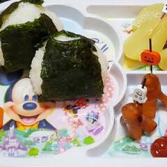 おにぎりアクション/onigiriAction/娘の朝食/焼きたらこおにぎり/鮭おにぎり/おにぎり/... 今日は娘お弁当有りかと思っていたら 🈚だ…