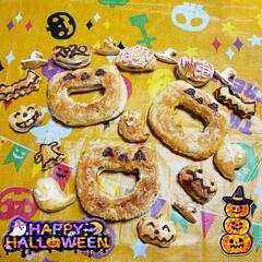 楽チン/sweets/至福のひととき/おうち時間/おうちスイーツ/おうちカフェ/... 今年のHalloweenは パンプキンパ…